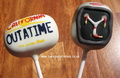 Back to the Future cake pops, £2.75ea