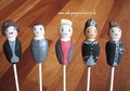 One Direction 1D cake pops, £4.50 ea (in this style)