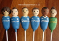 Chelsea FC cake pops, £3.50 ea (any team possible)