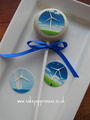 Corporate cake pops - £2.25 each (layered)